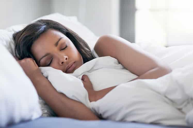 Upala uha - spavanje na stranu